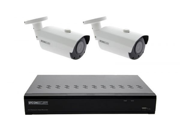 Bullet Überwachungskamera Set ELITE 2