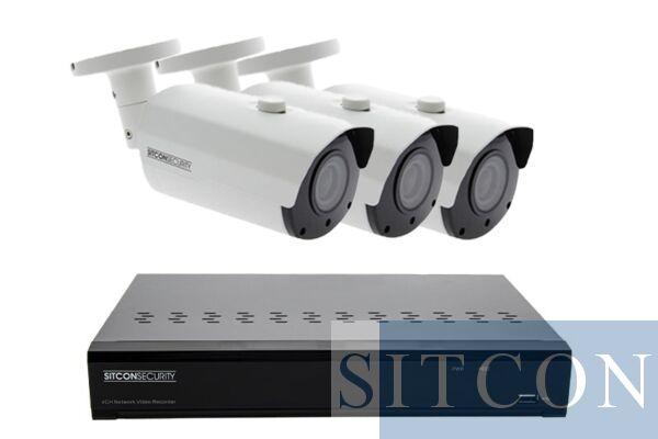 Bullet Überwachungskamera Set ELITE 3
