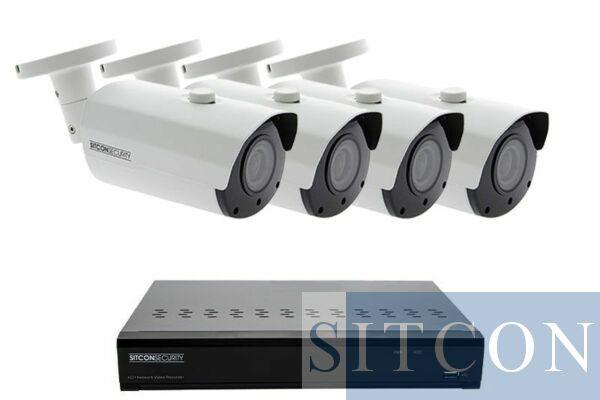 Bullet Überwachungskamera Set ELITE 4