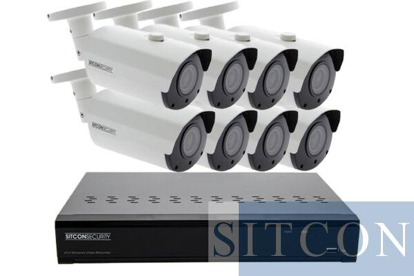 Bullet Überwachungskamera Set ELITE 8