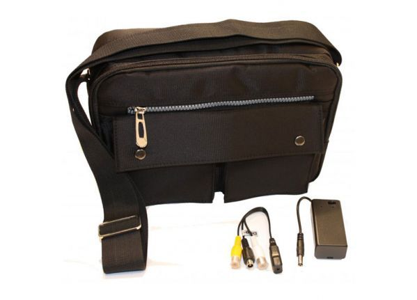 Bag Spy Kamera Set mit DVR