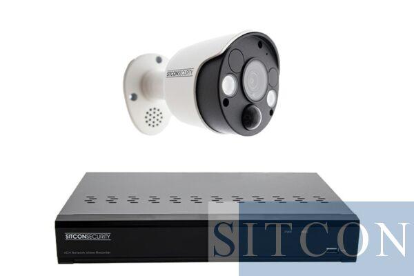 Überwachungskamera-Set für Stoßlampen SMART 1
