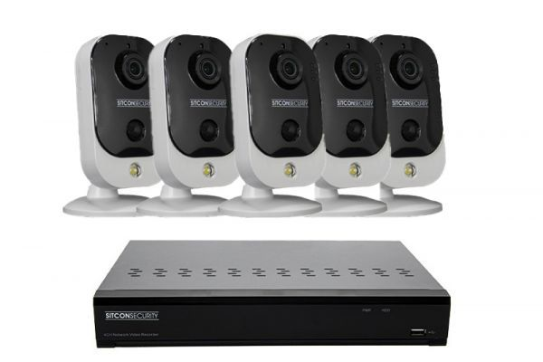 Cube Überwachungskamera Set EINFACH 5