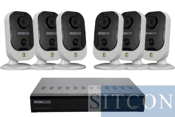 Cube Überwachungskamera Set EINFACH 6
