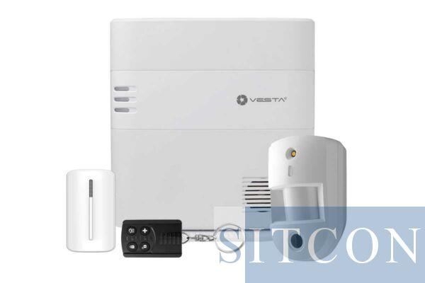 Drahtloses Alarmsystem mit PIR-Kamera ELITE