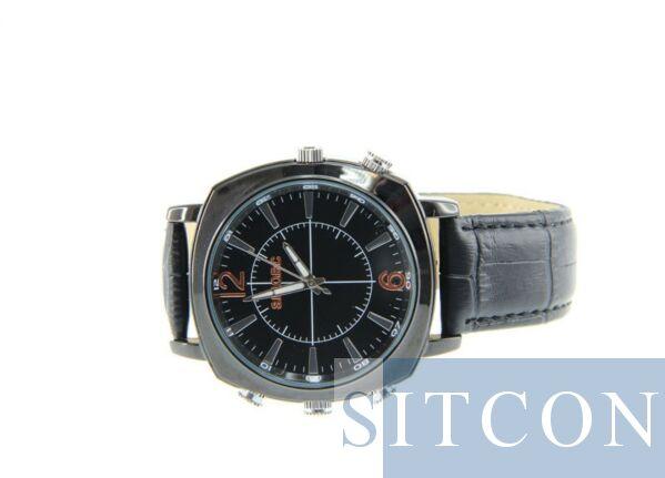 Uhr Spycam - Leder 2