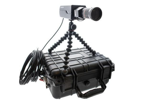 Mobiles Kameraset - Box + Zoomobjektiv