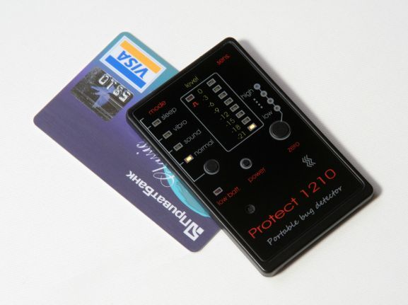 Breitband-Sender-Detektor - Kreditkarte