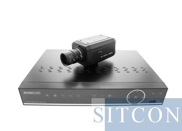 Box-Kamera-Set - raambevestiging