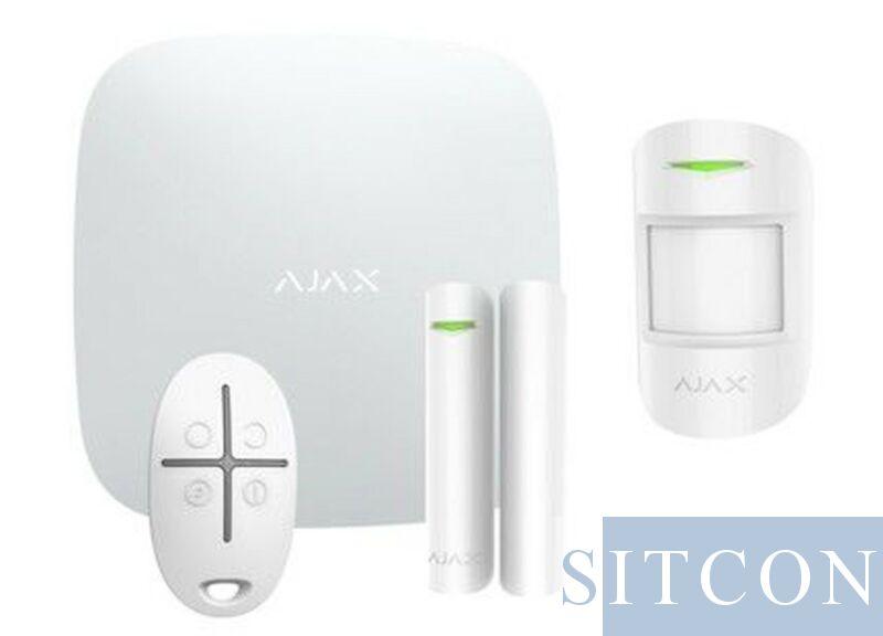 Wi-Fi-Alarmsystem Weiß SMART