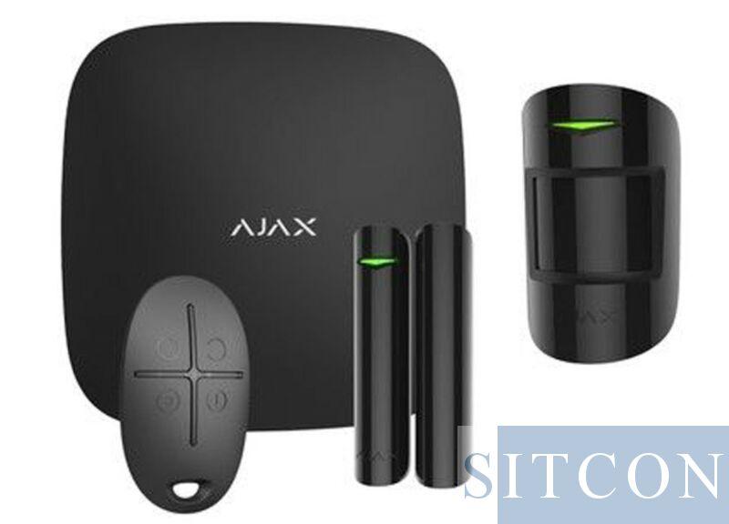 Wi-Fi Alarmsystem Schwarz SMART
