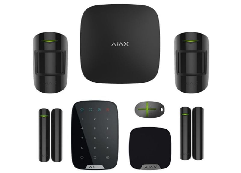 Drahtloses Alarmsystem Deluxe Black SMART