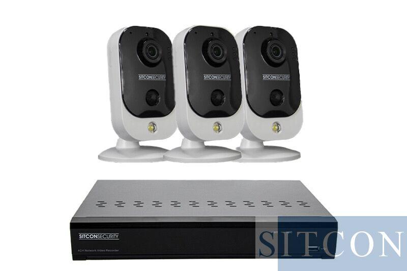 Cube Überwachungskamera Set EASY 3