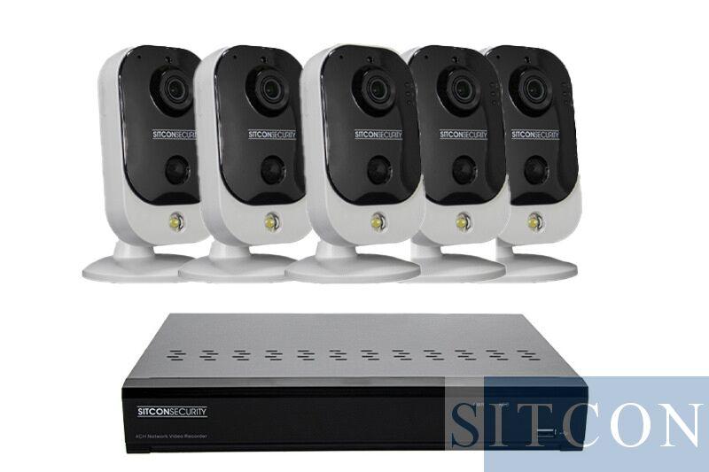 Cube Überwachungskamera Set EASY 5