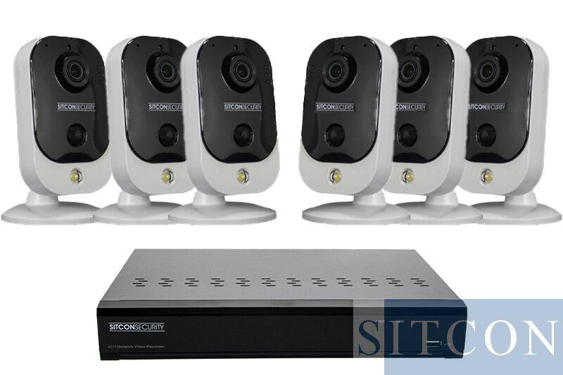 Cube Überwachungskamera Set EASY 6