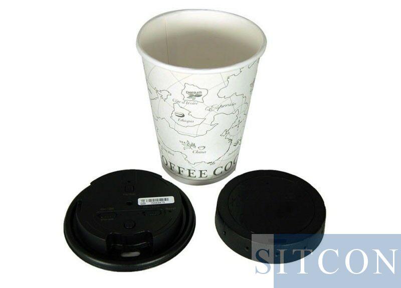 Kaffeedecke Spionagekamera