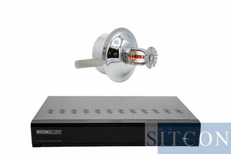 Sprinkler Spionage Kamera Set